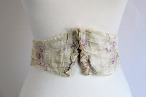 Antique 1800s Victorian Belt Or Waist Cincher