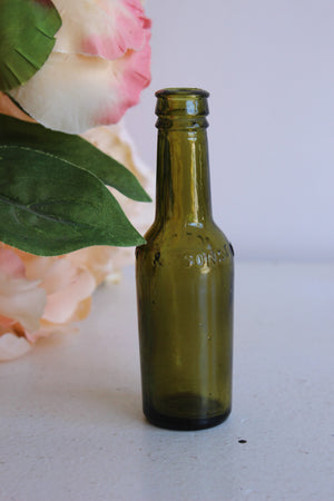 "Antique 1910s Dr. J.G.B. Siegert & Sons ""Angostura Bitters"" Bottle"