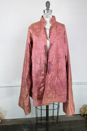 Vintage Asian Quilted Jacket