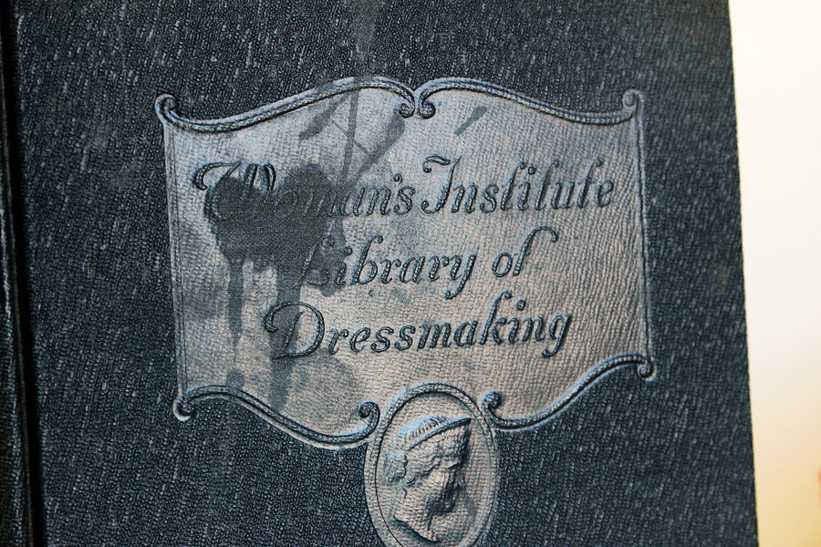 Vintage 1920s Book, Care of Clothing, Women's Institute of Dressmaking, Volume 3