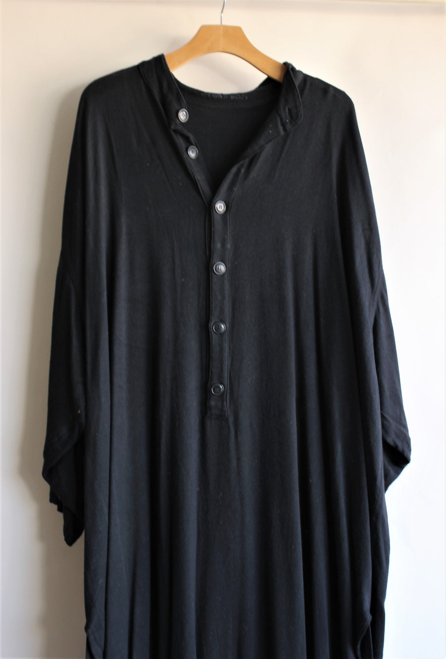 Vintage Costume Long Black Mens Tunic