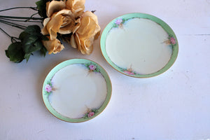 Vintage 1920s 1930s Plates from Czechoslovakia, Union T