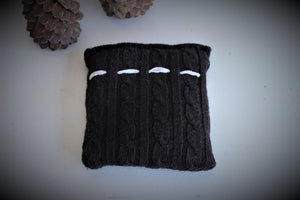 Hand Sewn Lavender Filled Dream or Comfort Pillow in Black