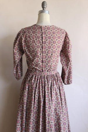 Vintage Victorian Day Dress Costume