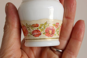 Vintage 1960s Avon To A Wild Rose Powder Jar