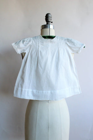 Vintage 1950s 1960s Christening Baptism Dress, Made in Manilla