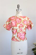 Vintage 1960s Miss Marcy of California Cropped Top, New With Tags
