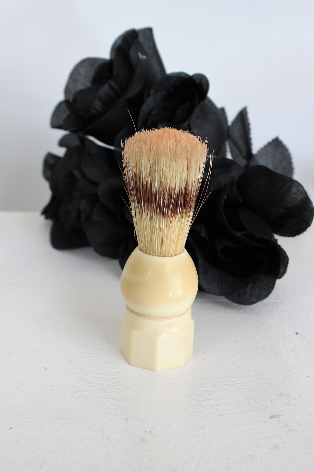Vintage 1950s Made Rite 761 Boar Bristle Shaving Brush
