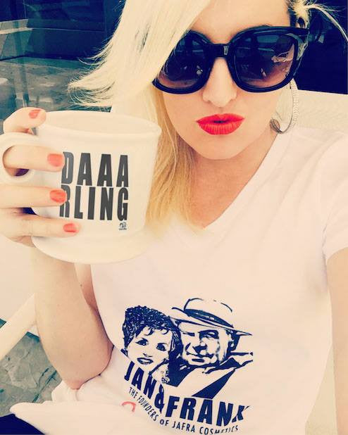 LIMITED EDITION JAN & FRANK DAAAAARLING BIG WORDS MUG