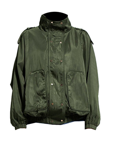 THE PERFECT EXTRA LONG ARMY JACKET (Small)