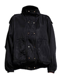 ROCKSTAR WIND BREAKER BOMBER IN BLACK