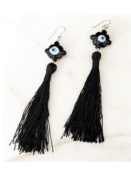 Mark and Estel X Rossmore Eye of the Tassel Earrings