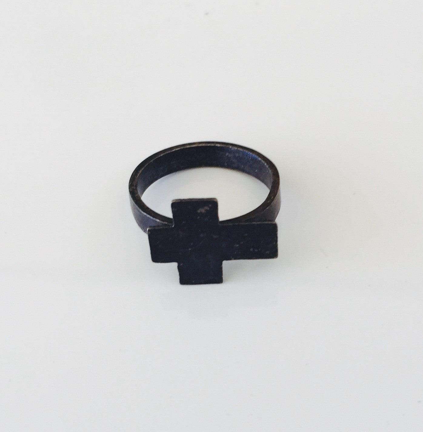 Mark and Estel X Rossmore Cross Rings- Black, Silver, or Gold