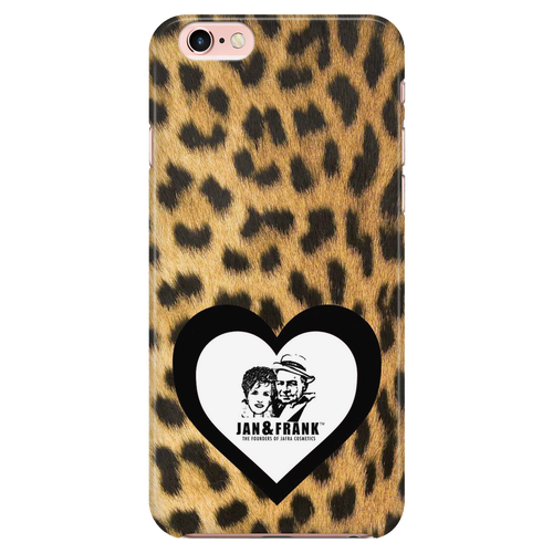 6/6S IPHONE CASE- JAN AND FRANK LEOPARD HEART CASE