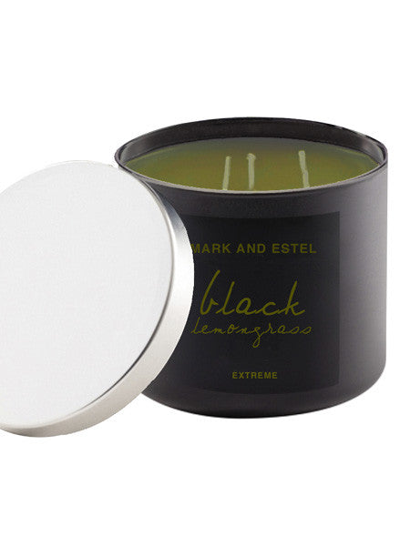 Mark and Estel EXTREME Scented Soy Candle - Lemongrass