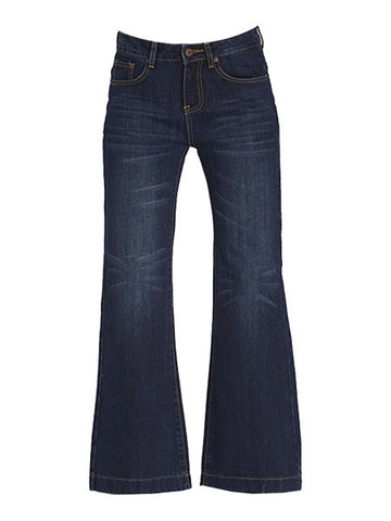 Dark Wash COURTNEY High Waisted Flare Jeans (XS-XXLarge)