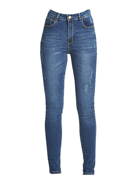 The Perfectly Perfect High Waisted Skinny Jeans