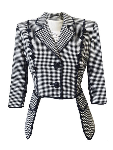 "Redesigned Moschino Cheap & Chic by Mark and Estel- ""The Pocket Blazer"""