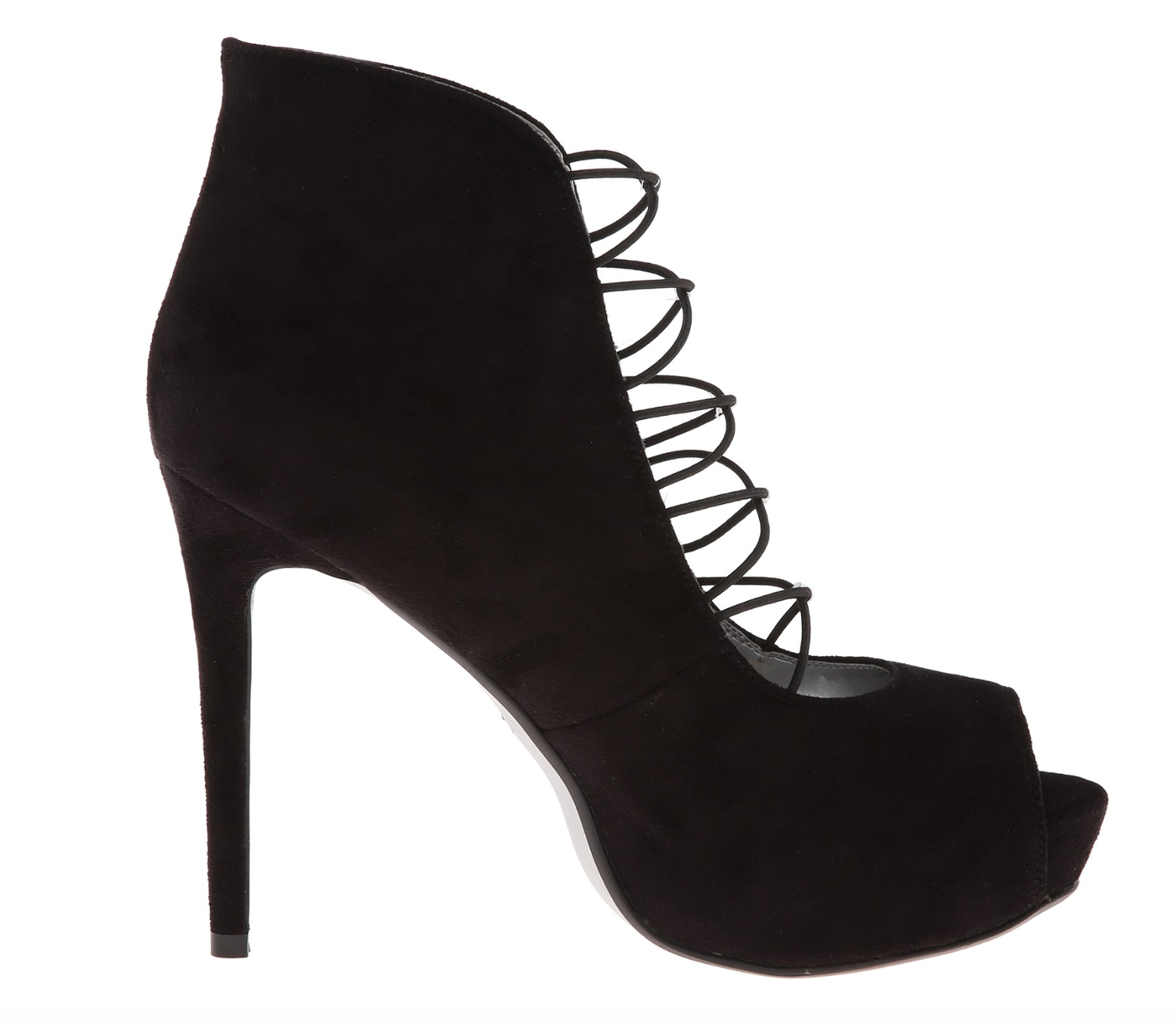 Criss Cross Black Heel