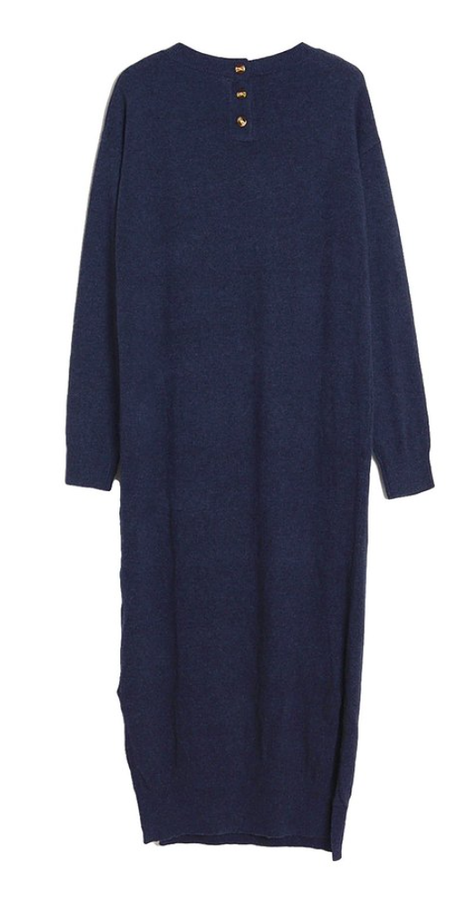Amazing Long Sweater in Black or Navy