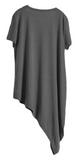 Asymmetrical Tee (Loose- One Size)