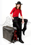 Mark and Estel Plaid British Trouser
