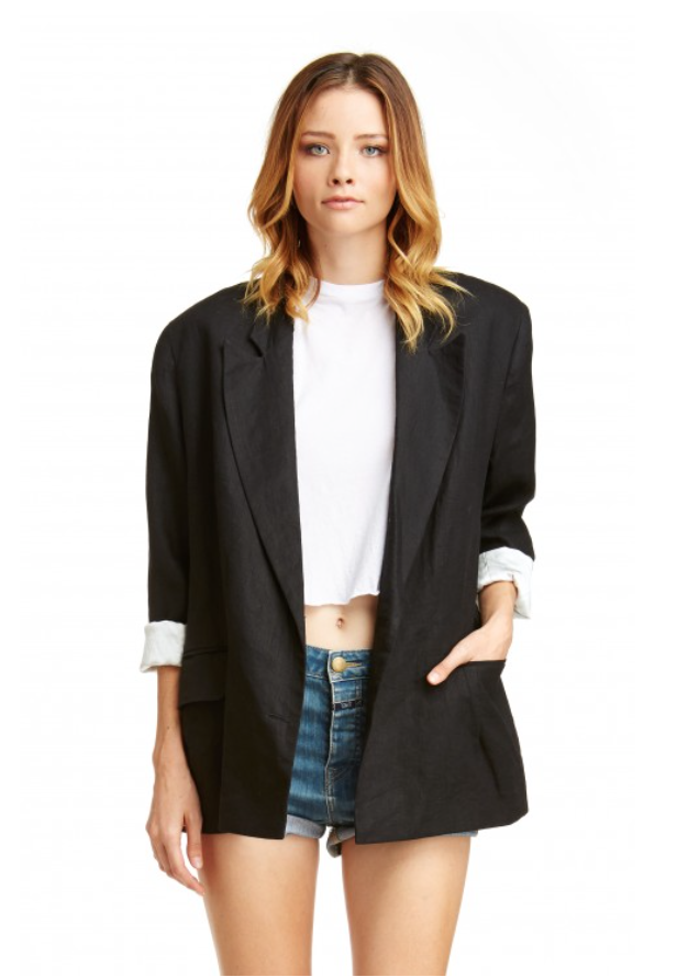 Mark and Estel Collection Boyfriend Blazer