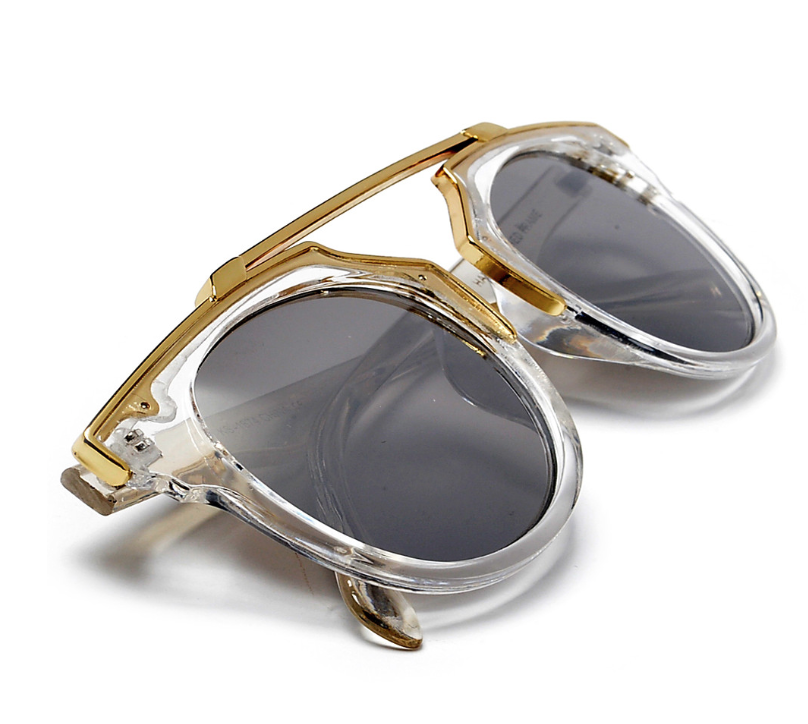 Clear Goldies Sunglasses