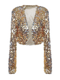 Rockstar Gold Shrug in Gold