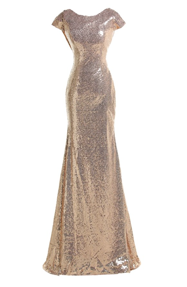 Rose Gold Party All Night Gown