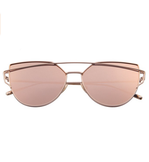 Party All Night Rose Gold Sunnies