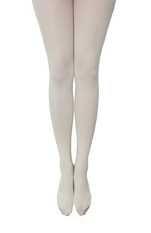 Party All Night Semi Opaque Tights in Color White
