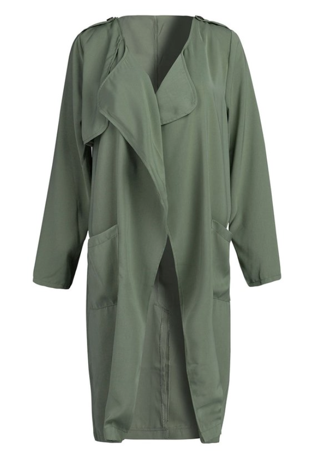 Army Green Loose Trench (Medium)