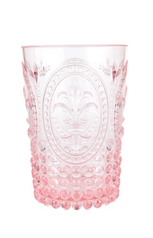 Pretty in Pink Embossed Tumbler (also available in Teal)