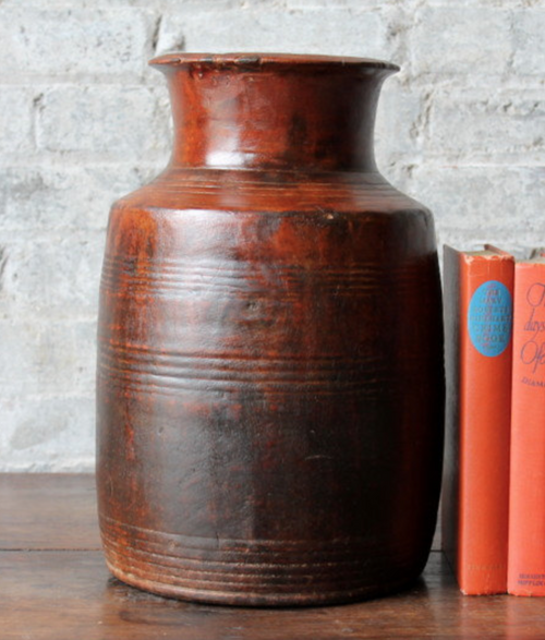 "13"" Large Reclaimed Wood Handmade Vase (One of a Kind)"
