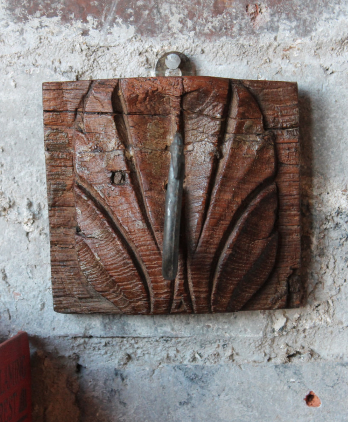 Reclaimed Wood Coat Hanger (One of a Kind)