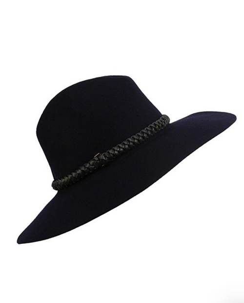 The Classic Navy Wide Brim