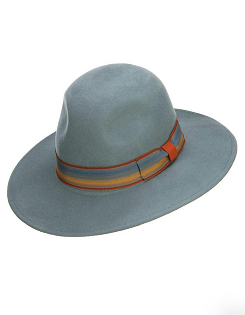 French Chic Wide Brim Wool Hat