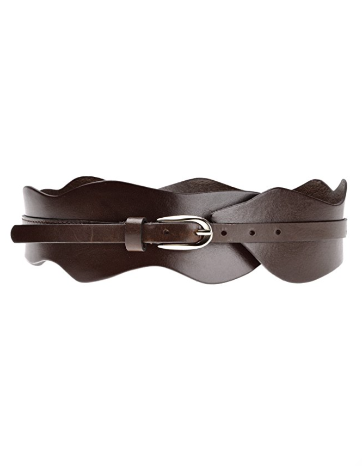 Rock n' Roll Leather Waist Belt in Maroon or Brown