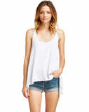 Mark and Estel / Skinny Swing Tank Black and White Small