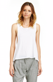 Mark and Estel / Drop Armhole Tank / in White or Black