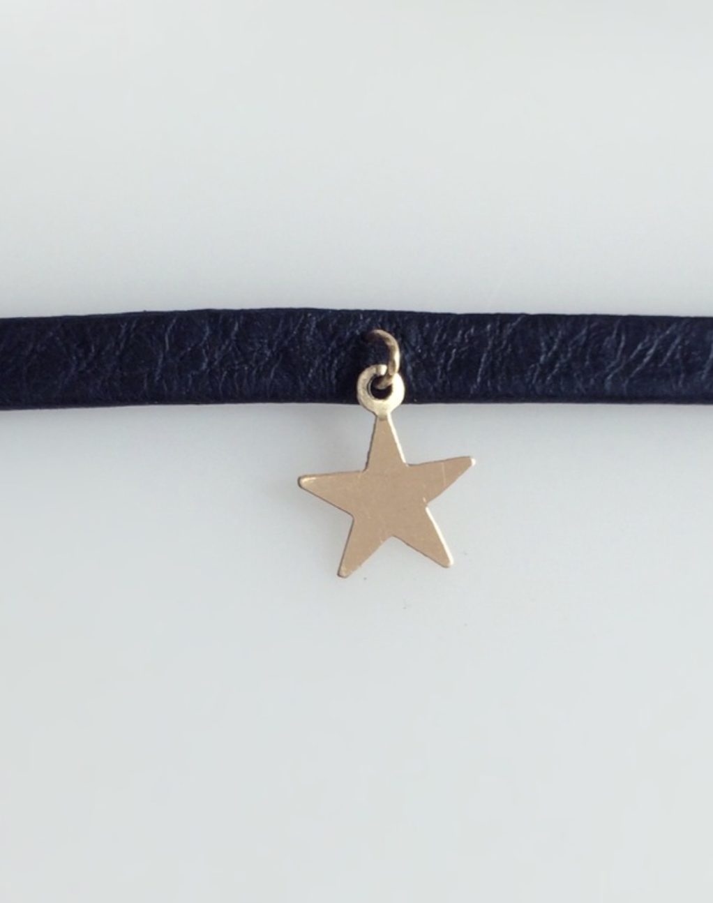 Mark and Estel X Rossmore Cassidy Leather Star Choker