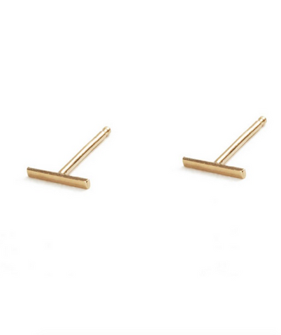 Mark and Estel X Rossmore Minimail 14K Gold Chain Earring