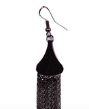 Roaring 20's Chain Dangle Earrings