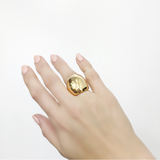 Mark and Estel X Rossmore Rose Gold Chunky Scoop Ring (also in Sterling or 14K Yellow Gold)