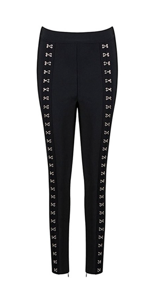 The Angelina Hook & Eye Legging Trousers
