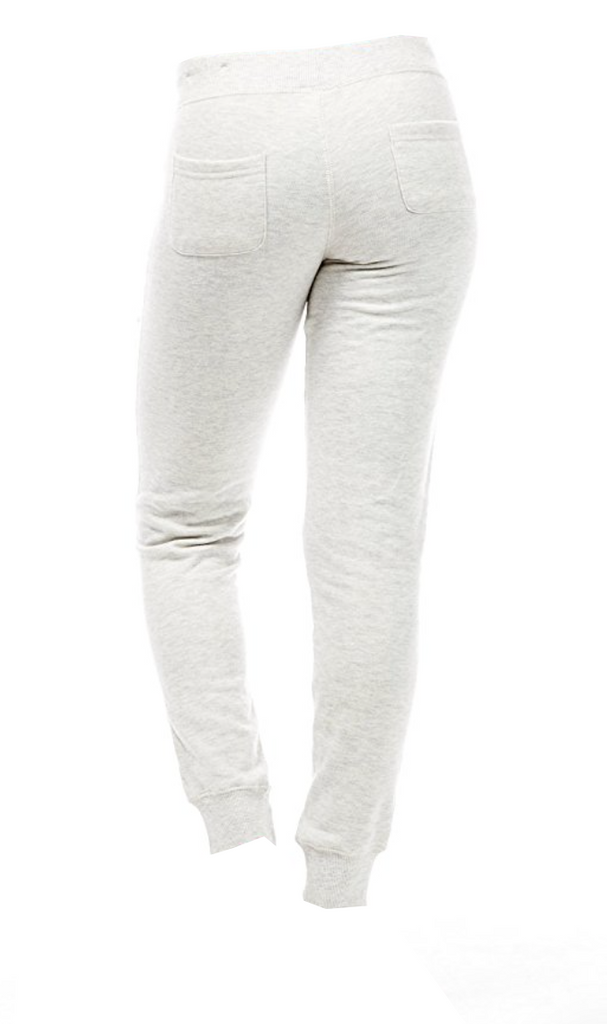 The Perfectly Fitted Drawstring Joggers in Oatmeal