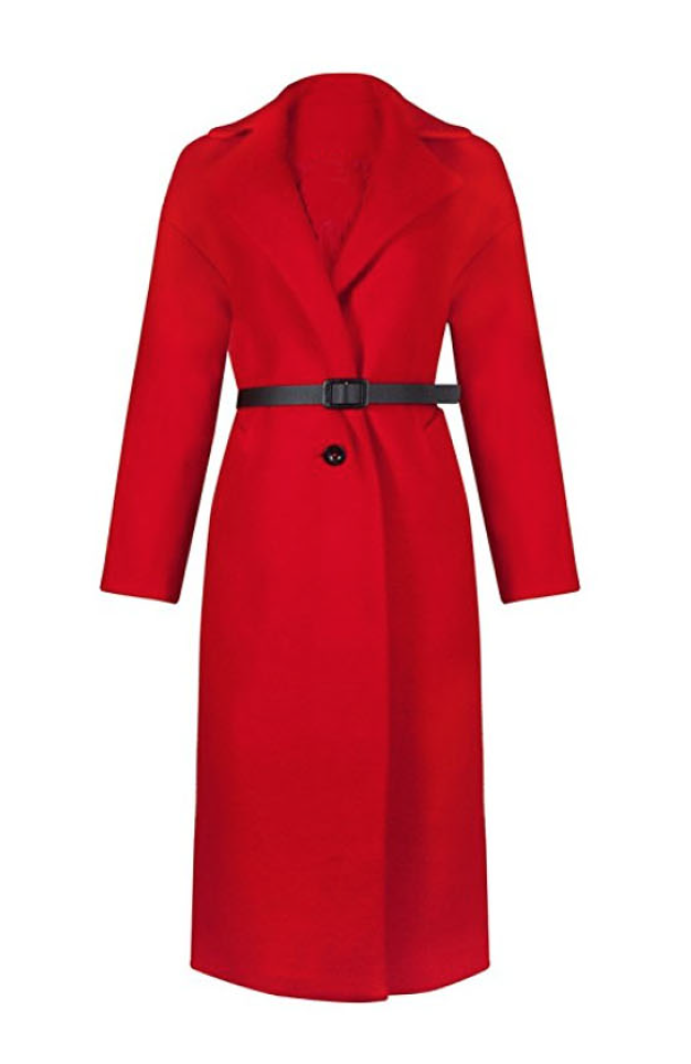 RED FIRE Winter Maxi Coat (Small - XLarge)