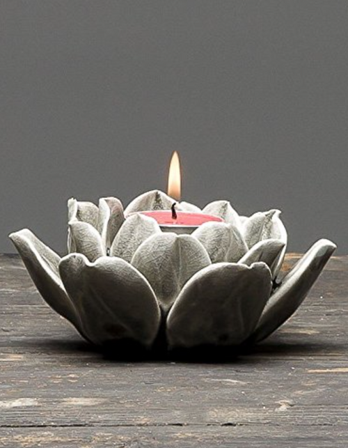 Rockstar Lotus Candle Holder