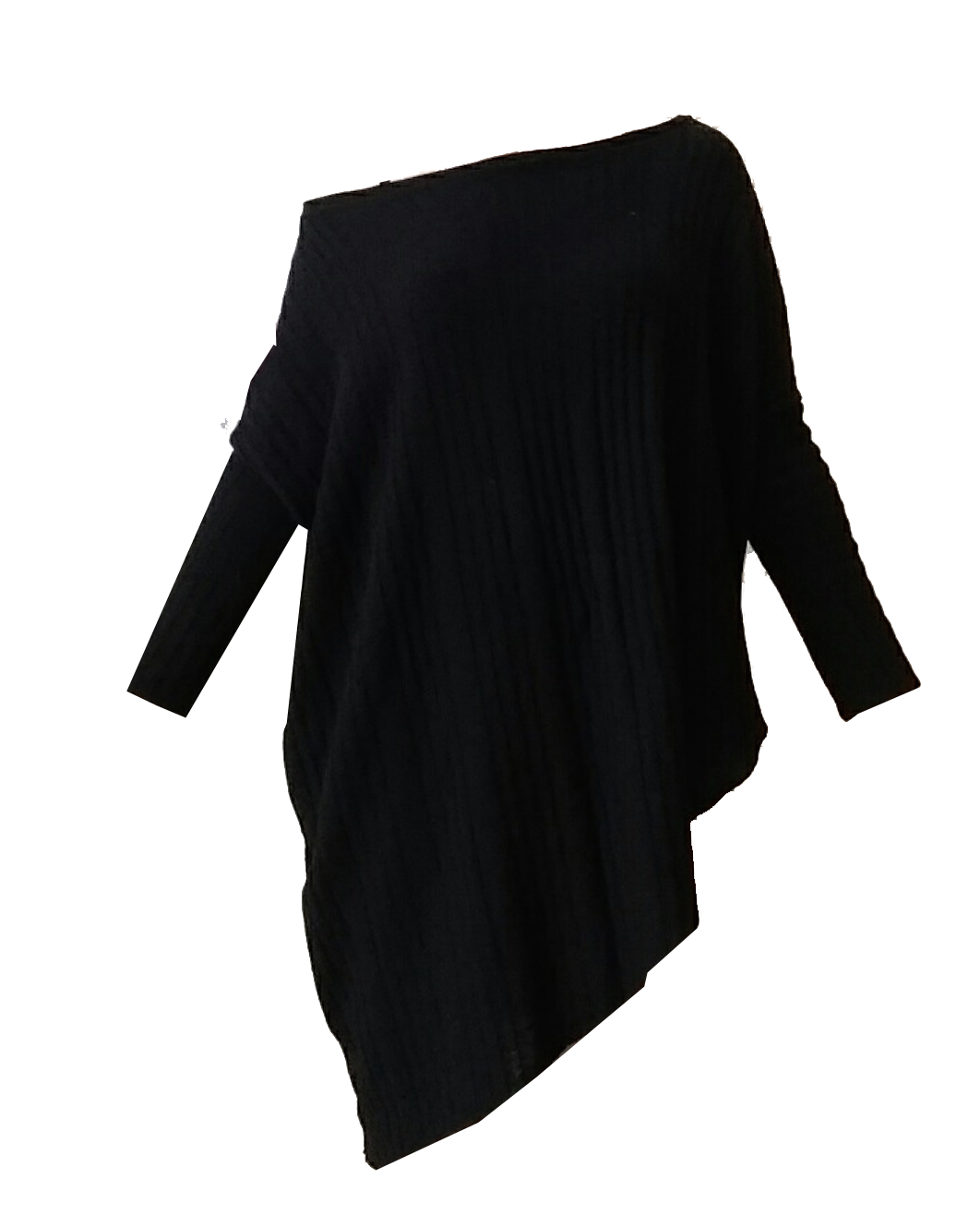 Mark and Estel Cashmere Asymmetrical Sweater- All Sizes